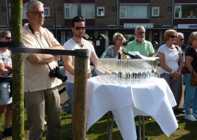 Champagne staat gereed. Foto: Jac de Waal